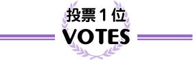 サイト投票1位